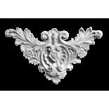 Гипсовая лепнина декоративный угол у-105 L-350мм