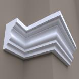 Фасадный карниз ФК25 H 230x125