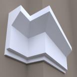 Фасадный карниз ФК28 H 610x220