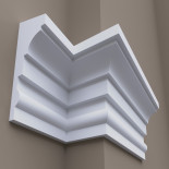 Фасадный молдинг ФТ21 Н 610х205