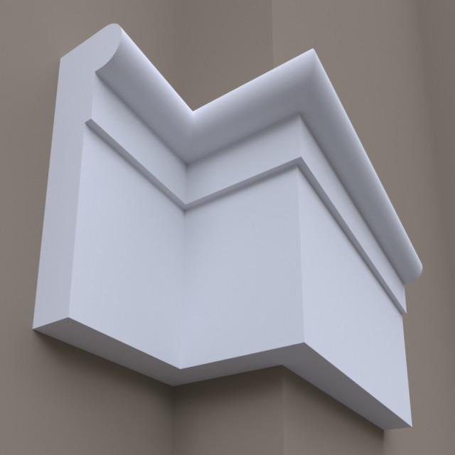 Фасадный молдинг ФТ50 Н 610х165