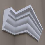 Фасадный молдинг ФТ53 Н 415х185