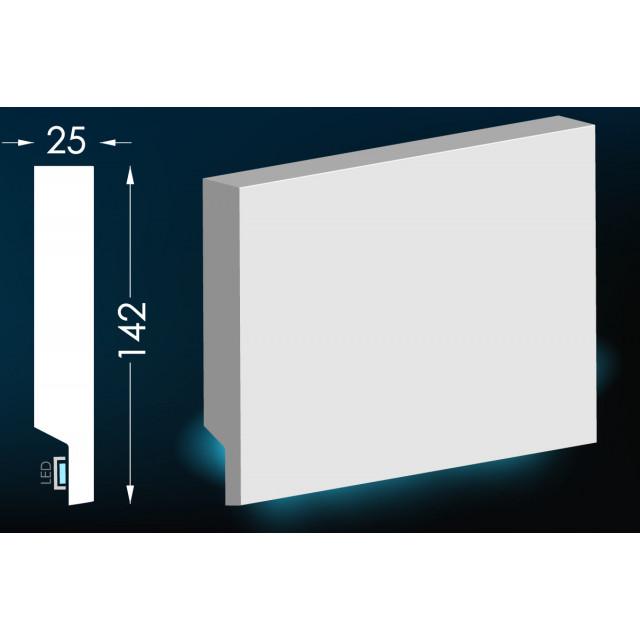 Карниз для скрытого освещения Тс-20