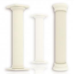 Декоративные колонны, полуколонны, пилястры