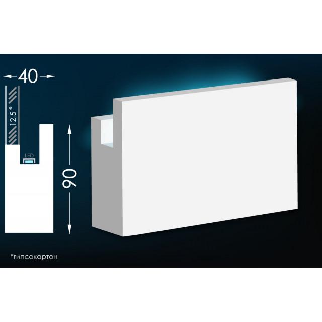 Карниз для скрытого освещения Тс-16