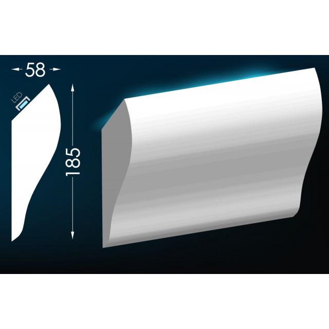 Карниз для скрытого освещения Тс-27