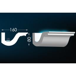 Гипсовый карниз для скрытого освещения Тс-38 (Т-336)