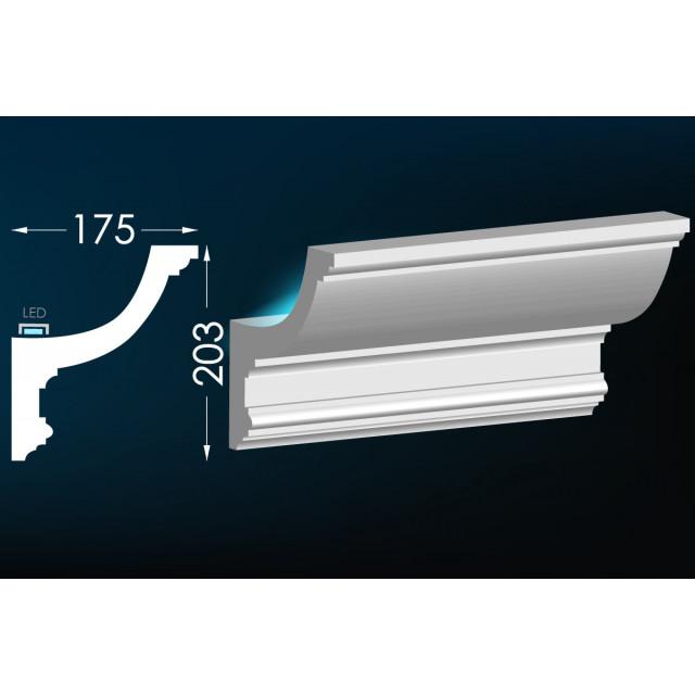 Карниз для скрытого освещения Тс-46 (Т-326)