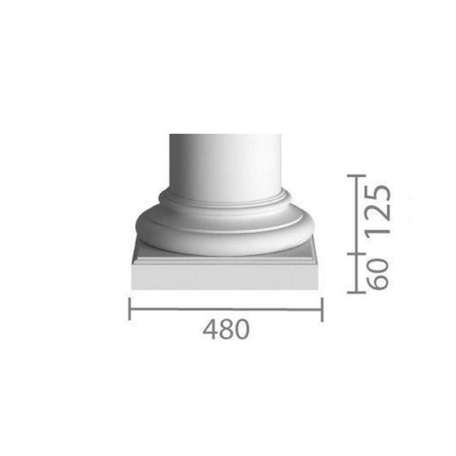 База колонны  б-102 (1/2)