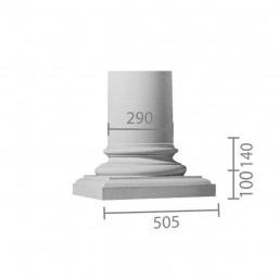 База колонны  б-105 (энтазис)
