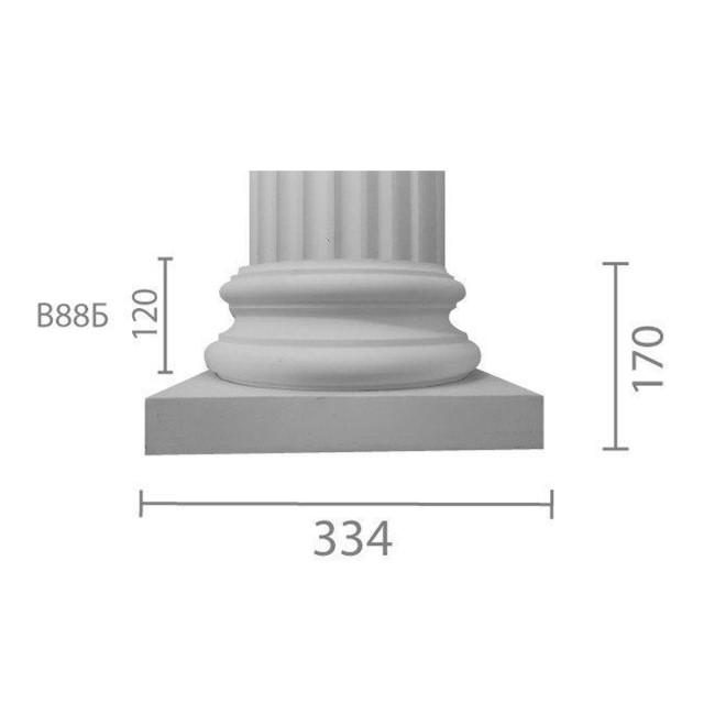 База колонны  б-88 (1/2)