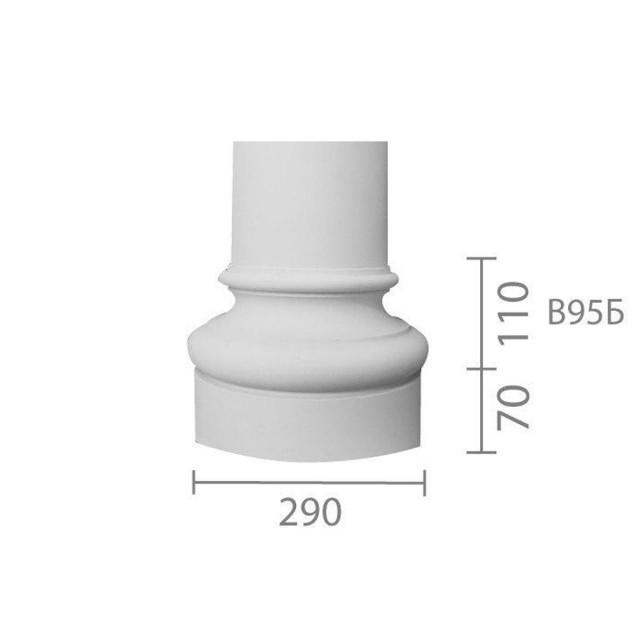 База колонны  б-95 (1/2)