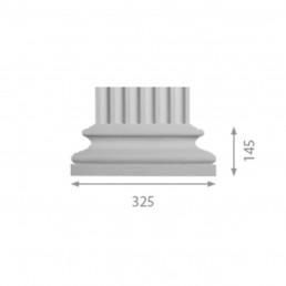 База колонны б-97 (пилястра)