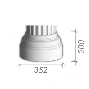База колонны  б-16 (В 16в)