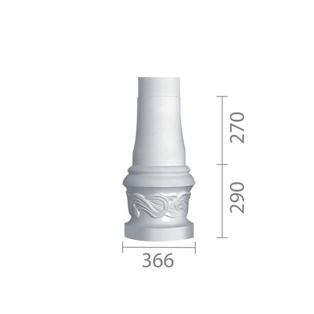База колонны б-43 (1/2)