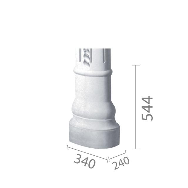 База колонны б-58 (1/2)