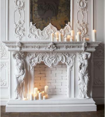 Декоративные камины, порталы для каминов