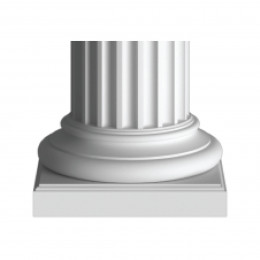 Базы, основание колонн