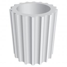 Стволы колонн из гипса