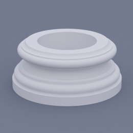 Базы колонн из пенополистирола, пенопласта