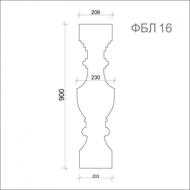 Балясины ФБЛ-16 (h 900)