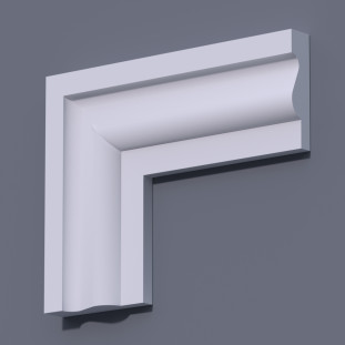 Фасадный молдинг (наличник) ФМ 1 (h 100)
