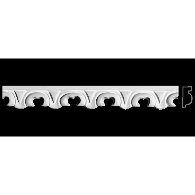 Фриз из гипса Ф-4 h25мм