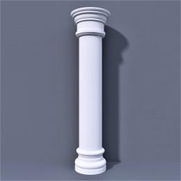 Стволы колонн из пенополистирола, пенопласта