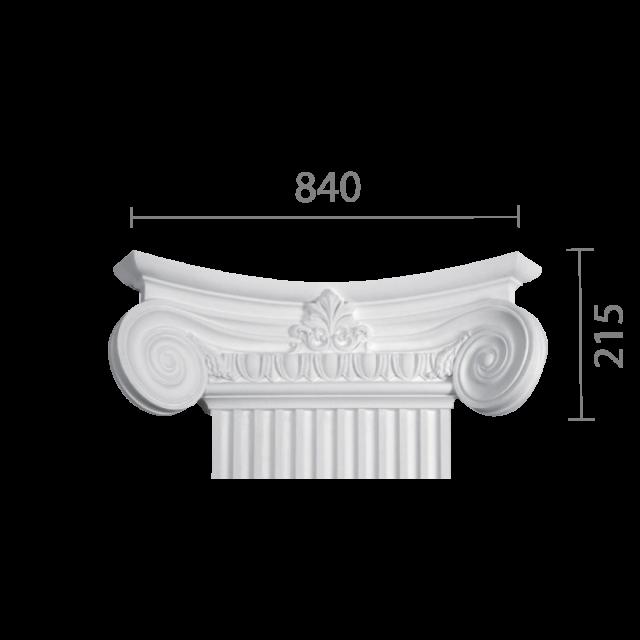 Капитель колонны кп-78 (квадратная)