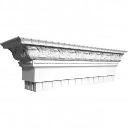 Потолочный карниз К-191 из бетона