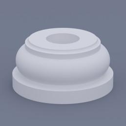 База круглая ФБК 1 h145 (d180)