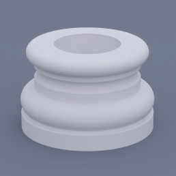 База круглая ФБК 3 h 220 (d250)