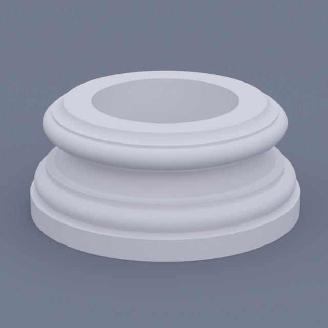 База круглая ФБК 7 h 210 (d350)