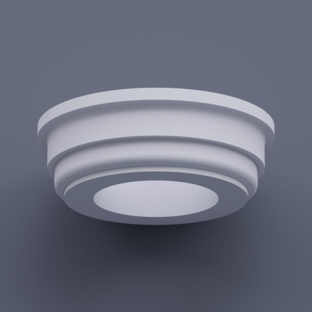 Капитель круглая ФКК 5 h130 (d300)