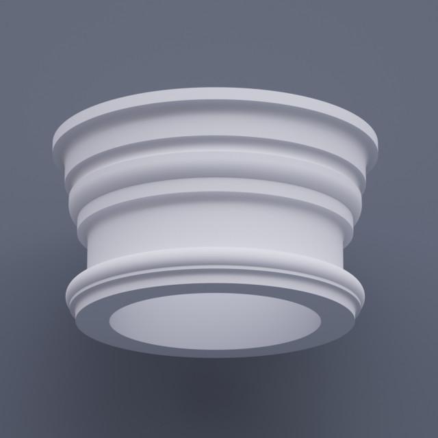 Капитель круглая ФКП 9 h280 (d400)