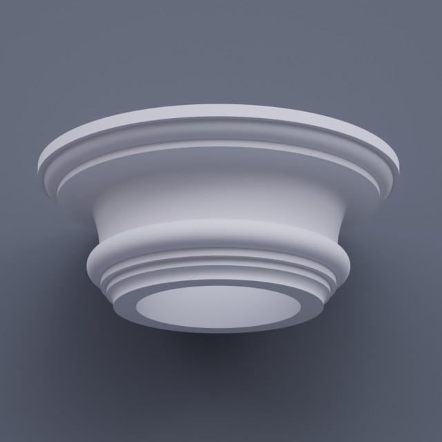 Капитель круглая ФКП 11 h320 (d450)