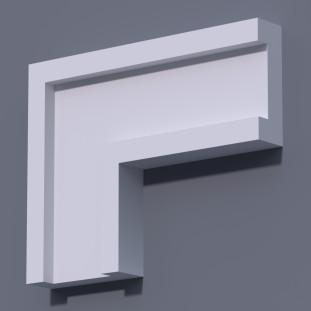 Фасадный молдинг (наличник) ФМ 11 (h 200)
