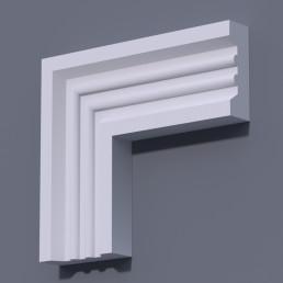 Фасадный молдинг (наличник) ФМ 15 (h 150)