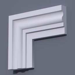 Фасадный молдинг (наличник) ФМ 16 (h 170)