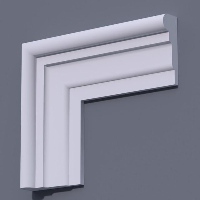 Фасадный молдинг (наличник) ФМ 17 (h 150)