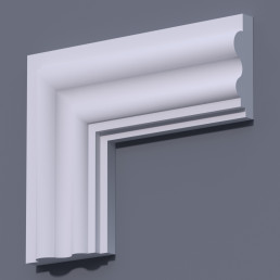 Фасадный молдинг (наличник) ФМ 20 (h 160)