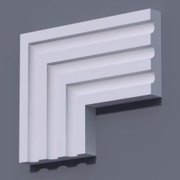 Фасадный молдинг (наличник) ФМ 32 (h 150)