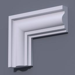 Фасадный молдинг (наличник) ФМ 8 (h 130)