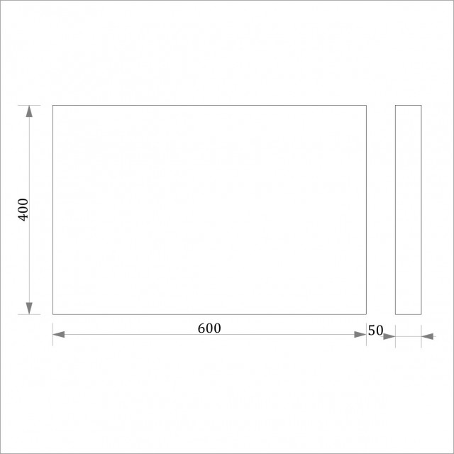 Руст (боссаж) ФР 13 (400*600)