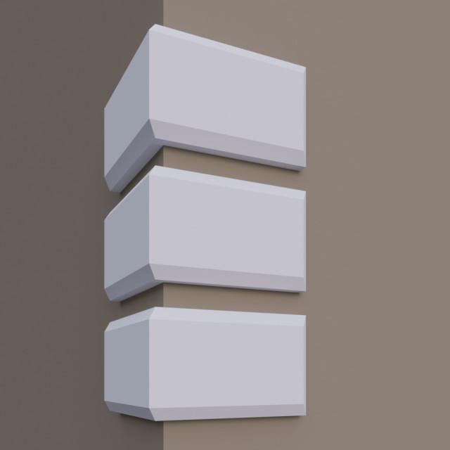 Руст Фр-2 для декорирования зданий