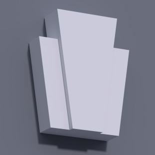 Замковый камень ЗК 4 (h 305)