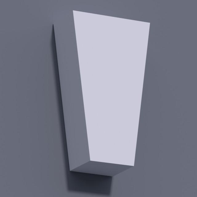 Замковый камень ЗК 3 (h 255)