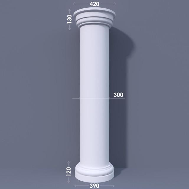 Колонна гладкая ФКА 10 d300