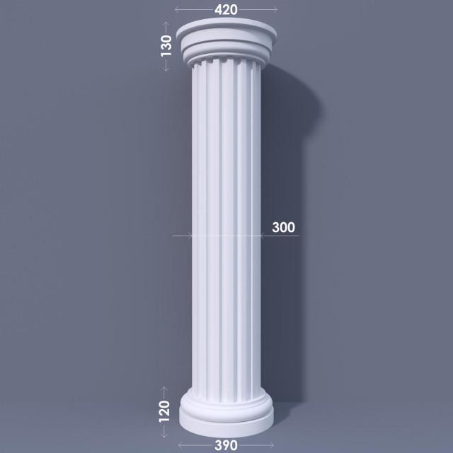 Колонна канелюрная ФКА 11 d300