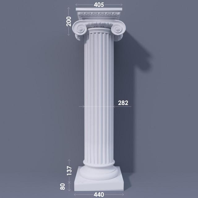 Колонна канелюрная ФКА 15 d282